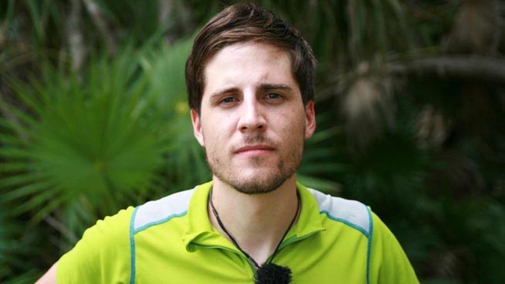 Pablo Ruiz. Camarero de Madrid, 25 años