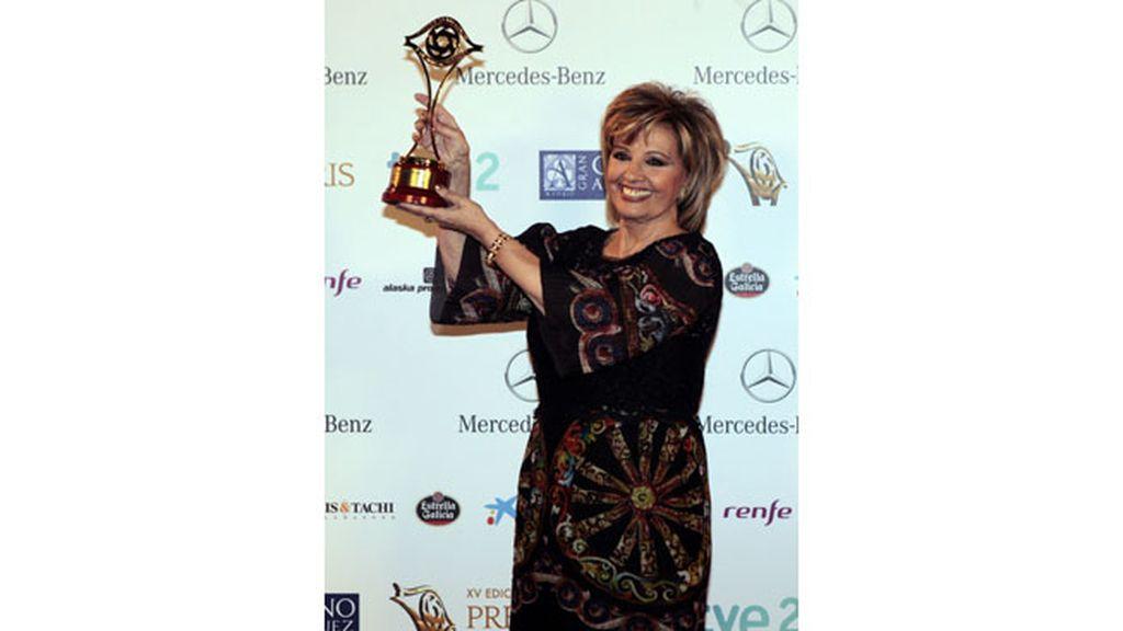 María Teresa Campos, premio Toda Una Vida