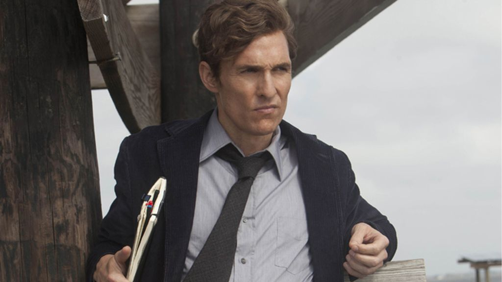 Matthew McConaughey, mejor actor de drama por 'True detective'