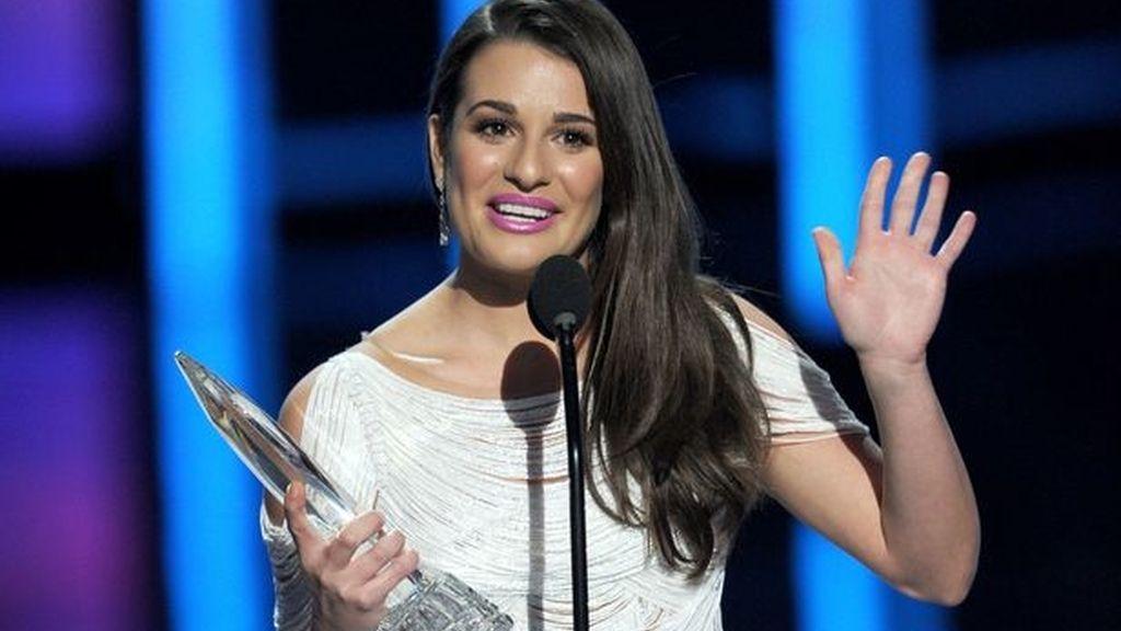 Lea Michelle ('Glee'), mejor actriz de comedia