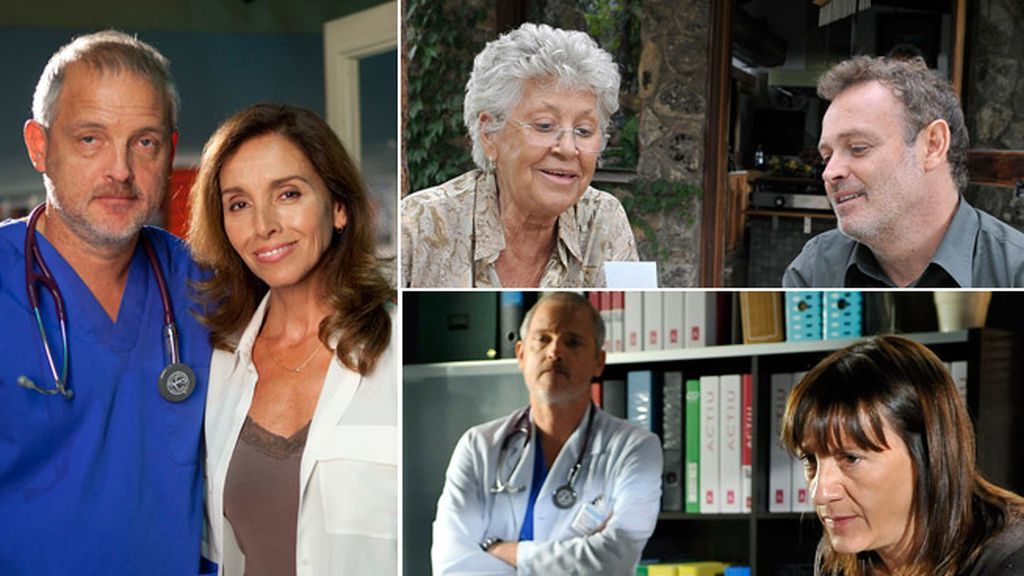 Pilar Bardem, madre de Pablo Carbonell, y Ana Belén, psicóloga con agorafobia