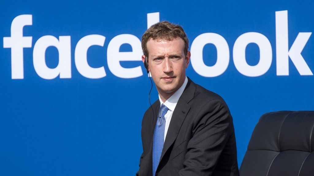 El fundador de Facebook Mark Zuckerberg