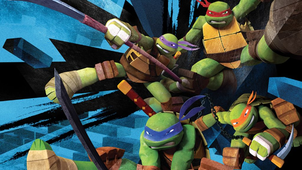 Tecnología 3D para las nuevas aventuras de 'Las tortugas ninja'