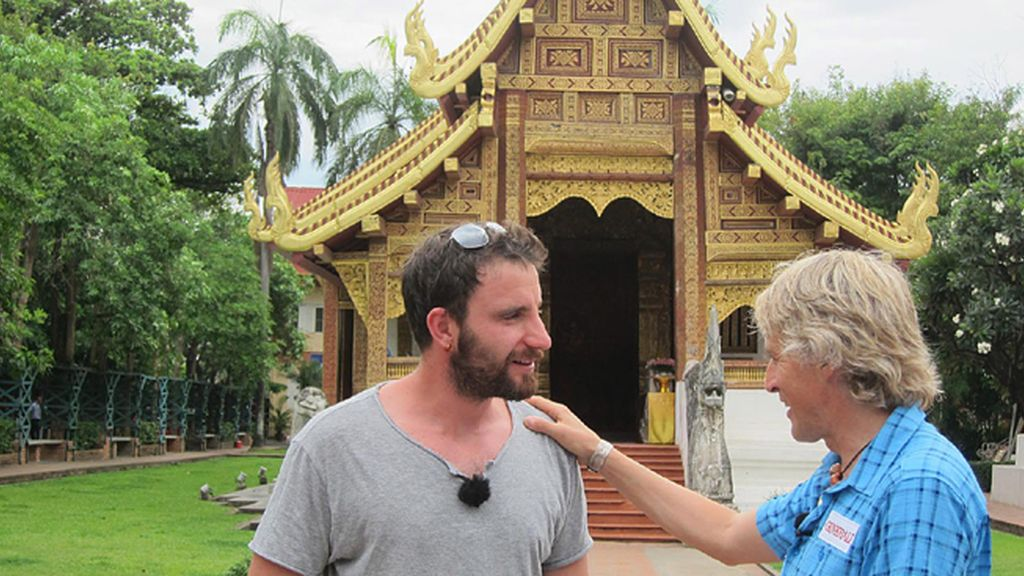 Dani Rovira, en Tailandia