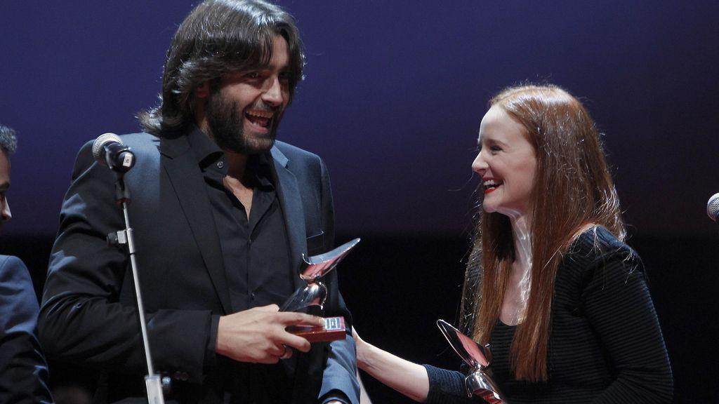 Aitor Luna ('Gran Reserva') y Ana Polvorosa ('Áída'), mejores secundarios de televisión