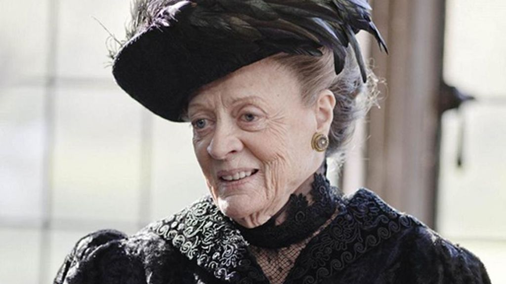 Maggie Smith, mejor actriz de reparto de drama por 'Downton Abbey' (PBS)