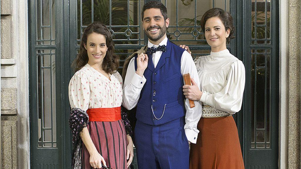 Víctor (Miguel Diosdado) y Juliana (María Tasende), de la chocolatería La Deliciosa