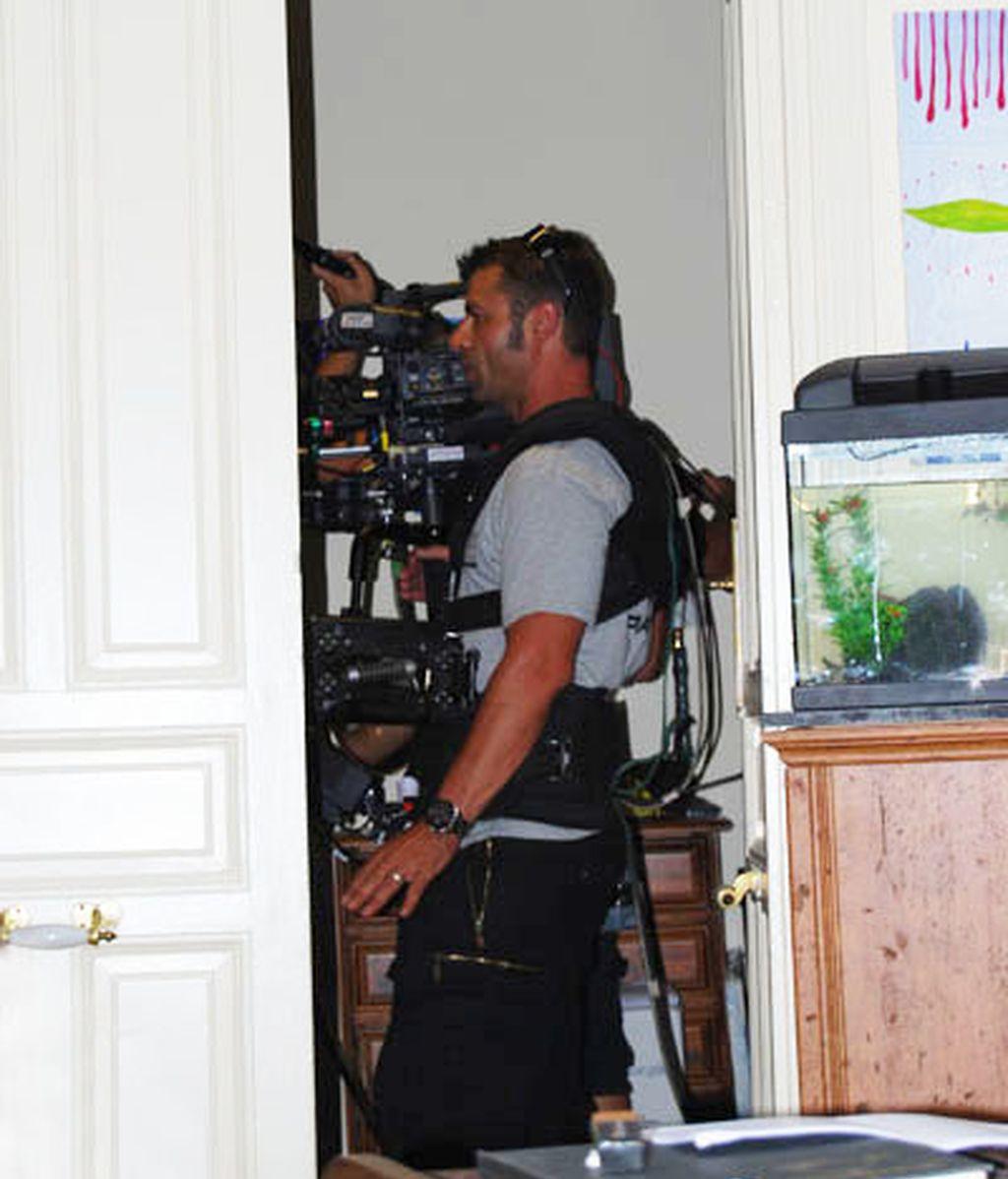 Rodaje de 'Hermanos y detectives' (Telecinco)