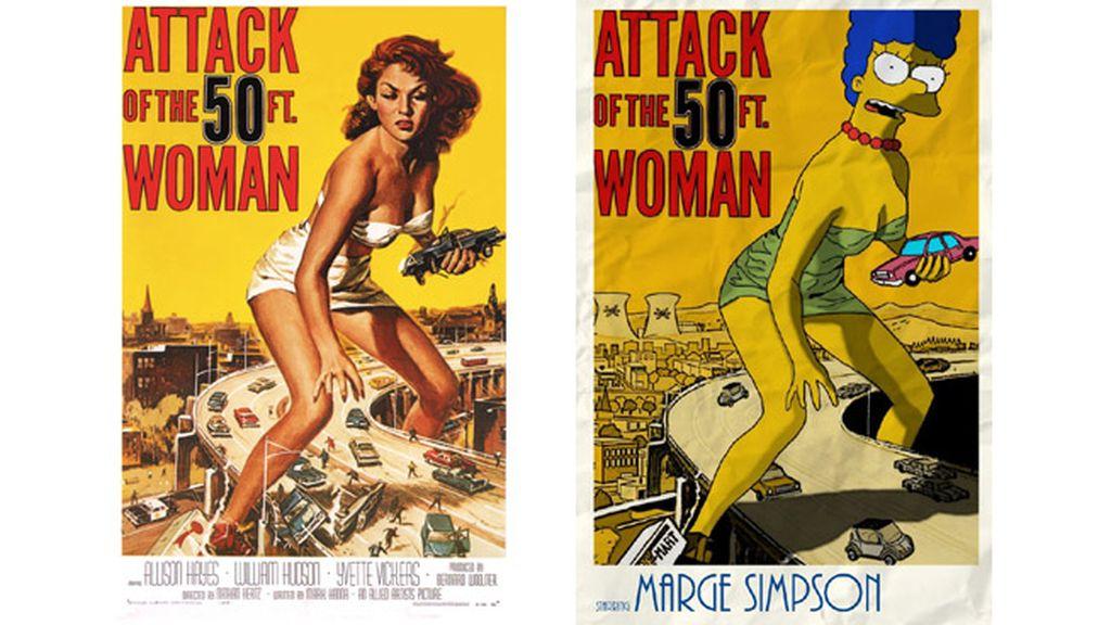'El ataque de la mujer de 50 pies'
