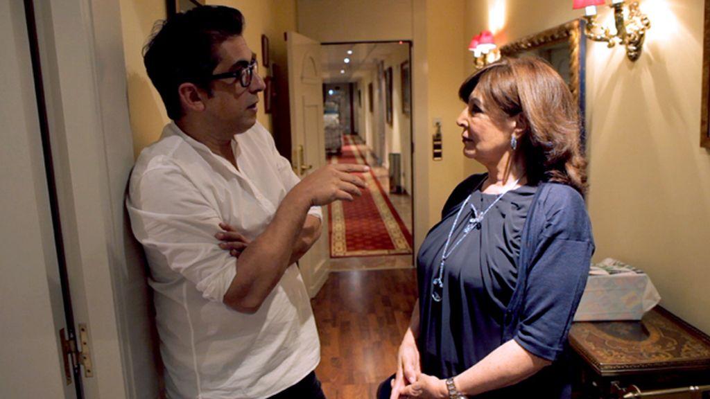 Andreu Buenafuente con Concha Velasco