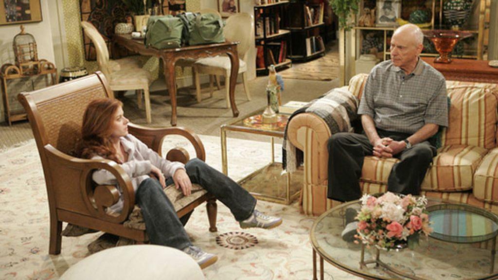 Alan Arkin (candidato a mejor actor secundario por 'Argo'), en 'Will & Grace'
