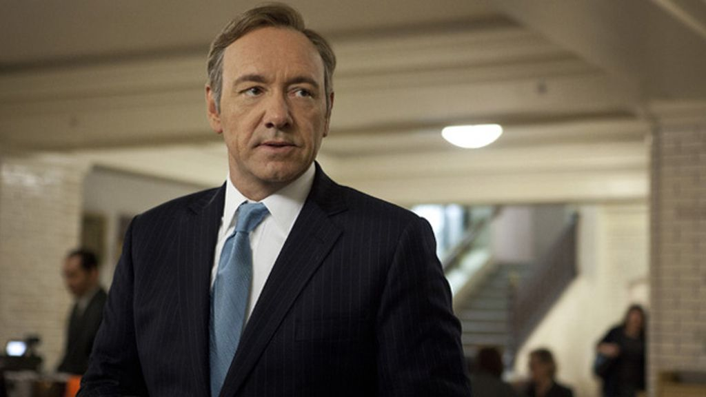 Kevin Spacey, mejor actor en serie dramática por 'House of cards'