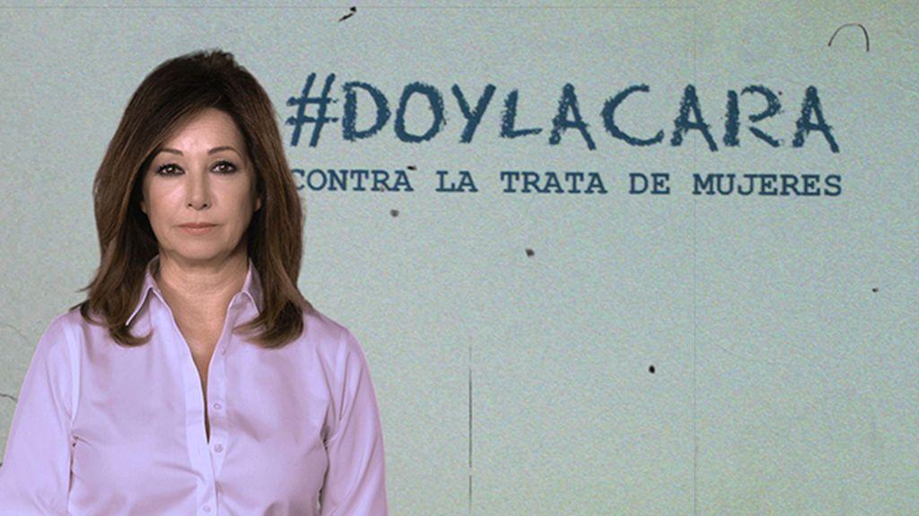 Ana Rosa Quintana da la cara contra la trata