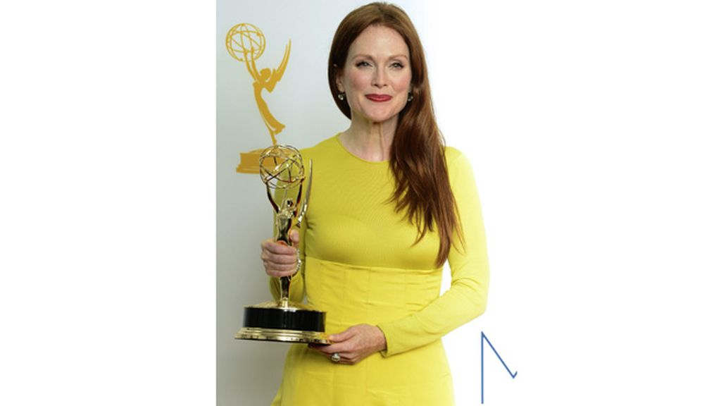 Julianne Moore, mejor actriz de miniserie por 'Game change' (HBO)