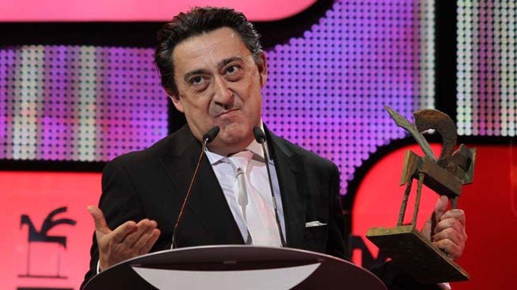 Mariano Peña, mejor intérprete masculino de ficción nacional por 'Aída', de Telecinco