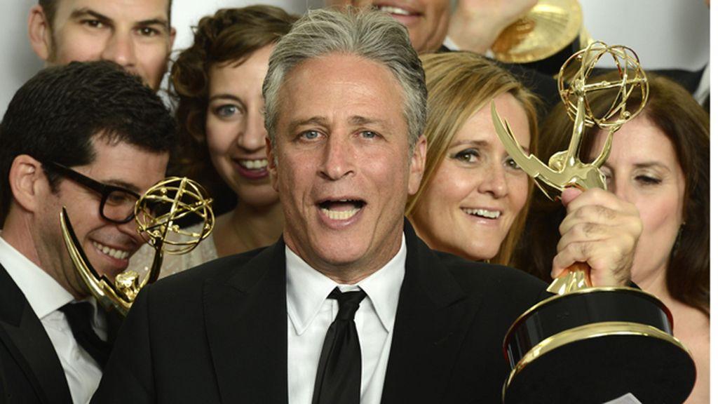 Jon Stewart, premio a mejor programa de variedades por 'The daily show' (Comedy Central)