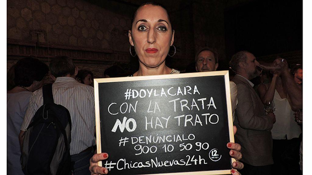 Rossy de Palma da la cara en el estreno de 'Chicas Nuevas 24 Horas'