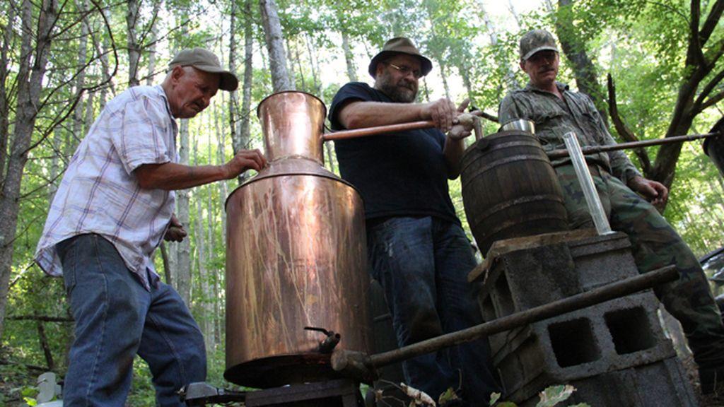 'Destiladores ilegales'