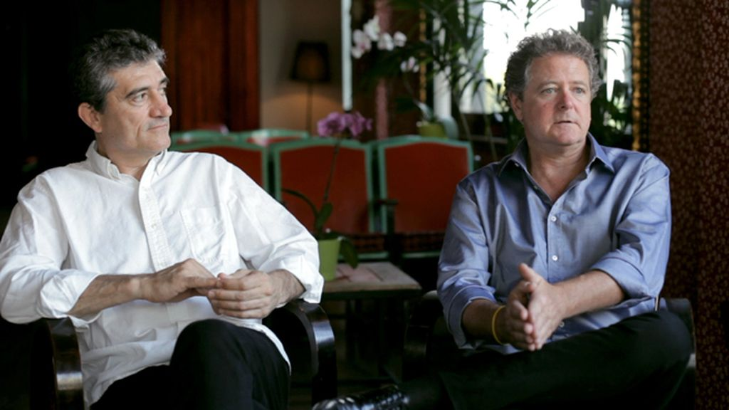 Guillermo Fesser y Juan Luis Cano, Gomaespuma