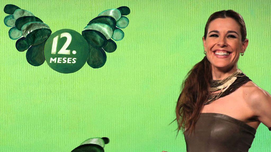 Raquel Sánchez Silva ya tiene sus alas verdes