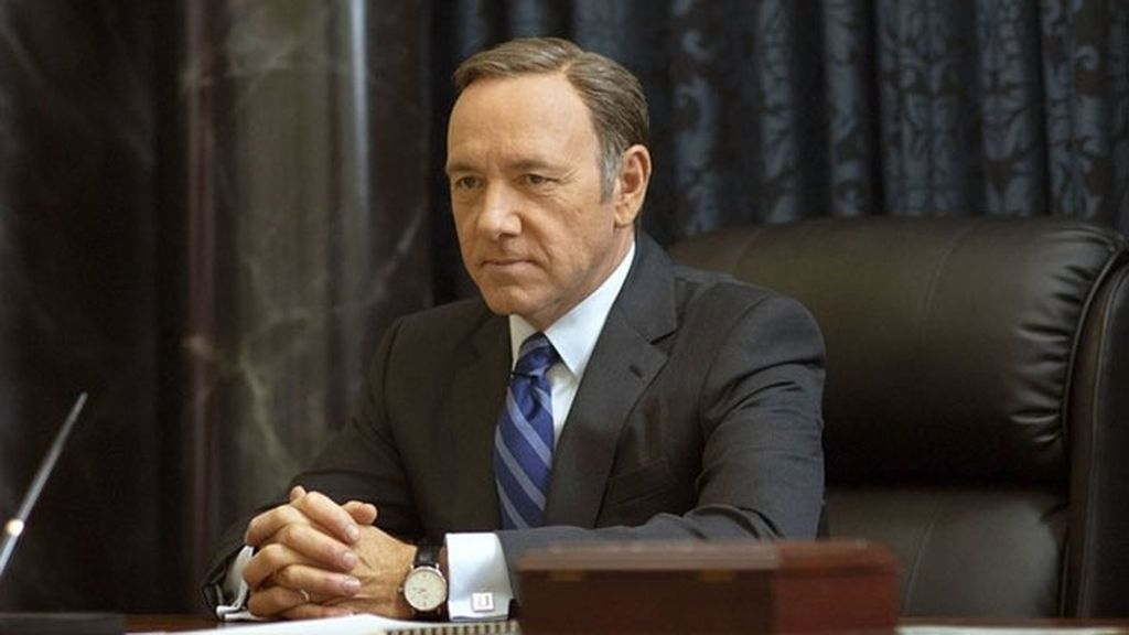 Kevin Spacey, mejor actor de drama por 'House of cards'