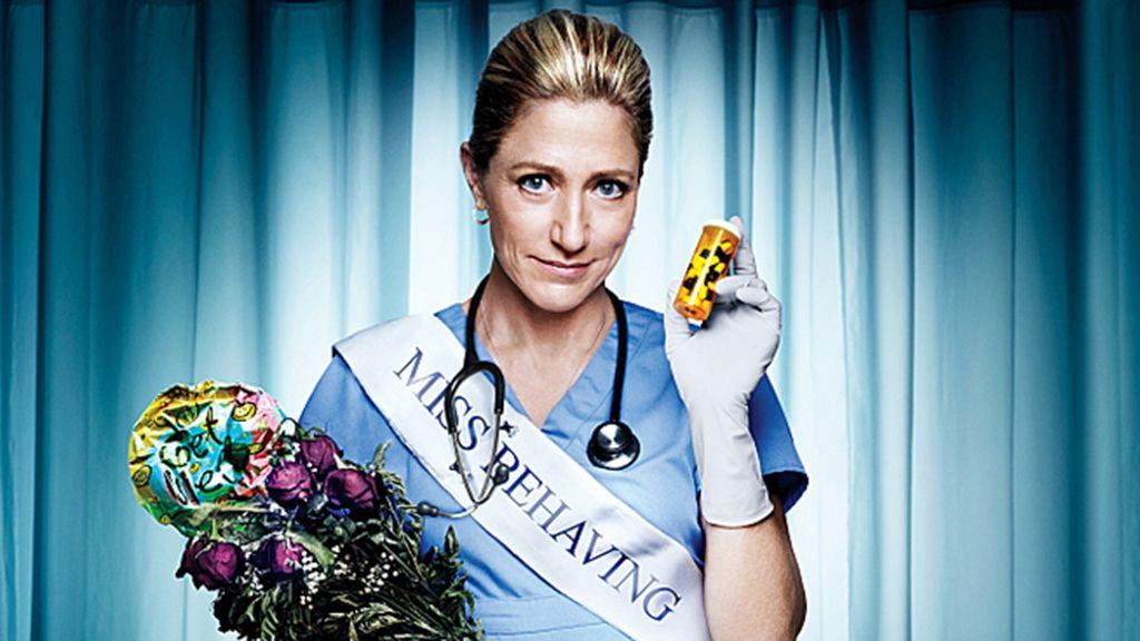 Edie Falco, mejor actriz de comedia por 'Nurse Jackie'