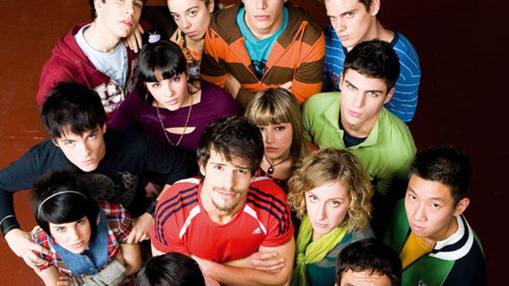 Los alumnos de 'Física o Química' (Antena 3)