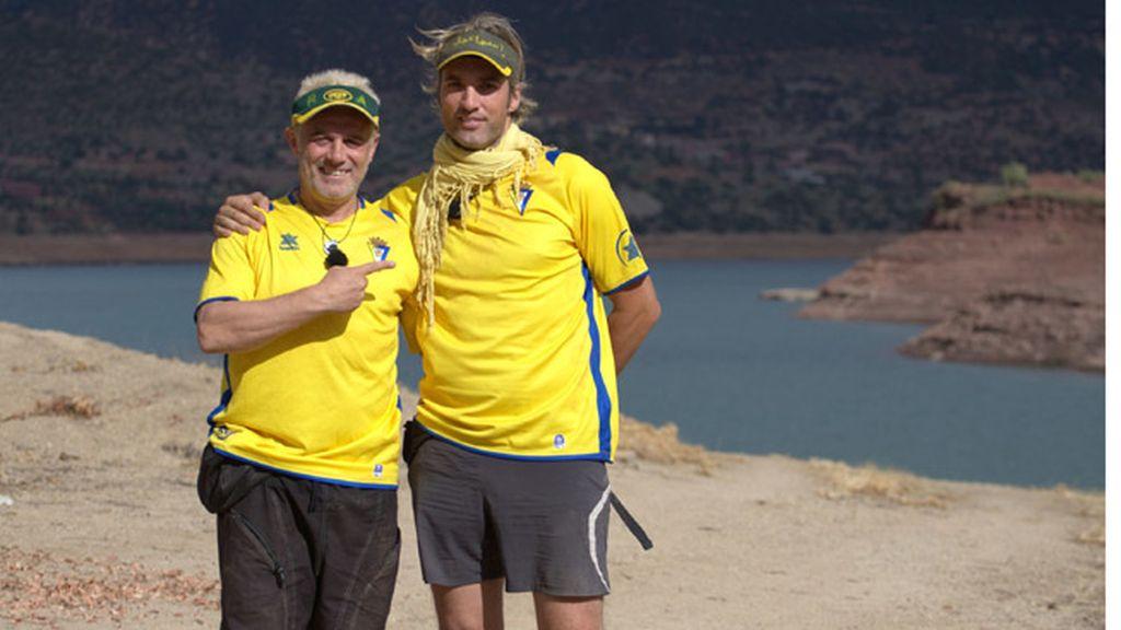 Equipo amarillo. Ismael Beiro e Iván Armesto, concursantes de 'GH 1'