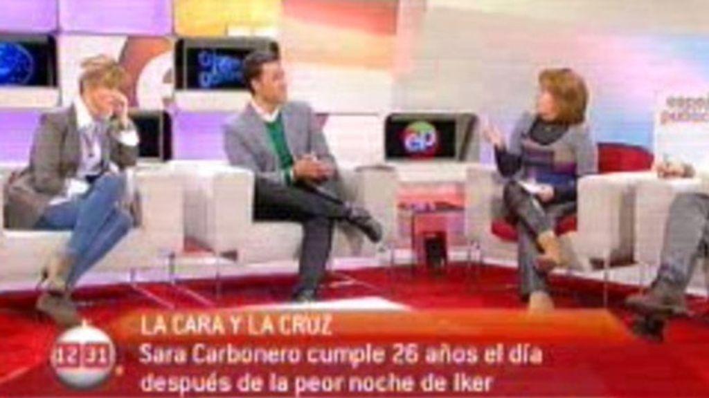 El 'no cumpleaños' de Sara Carbonero