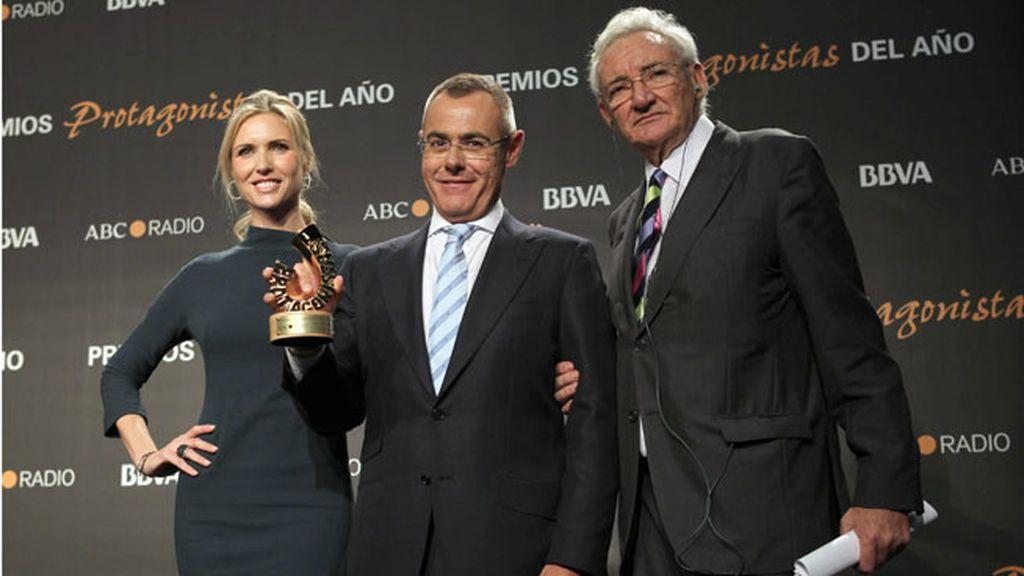 Jordi González, premio Protagonistas al mejor presentador de televisión