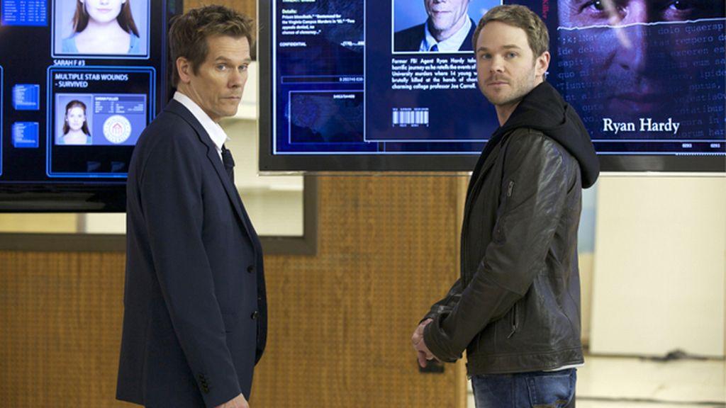Duelo interpretativo entre el ex agente del FBI Kevin Bacon y el psicópata James Purefoy
