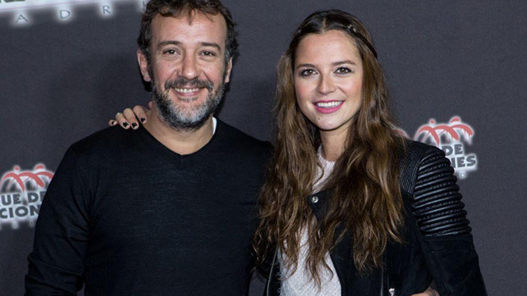 Los actores José Luis García Pérez y Cristina Alarcón