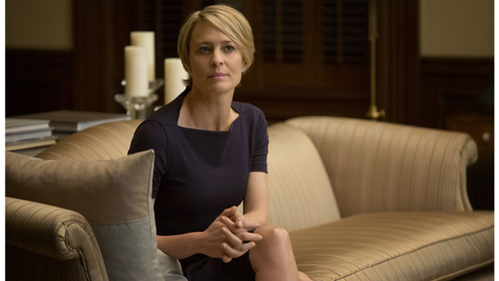 Robin Wright es Claire Underwood