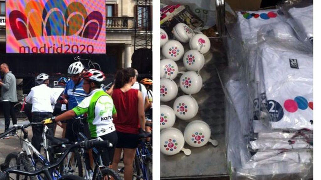 Marcha cicloturista 'Sobre Ruedas' por Vitoria