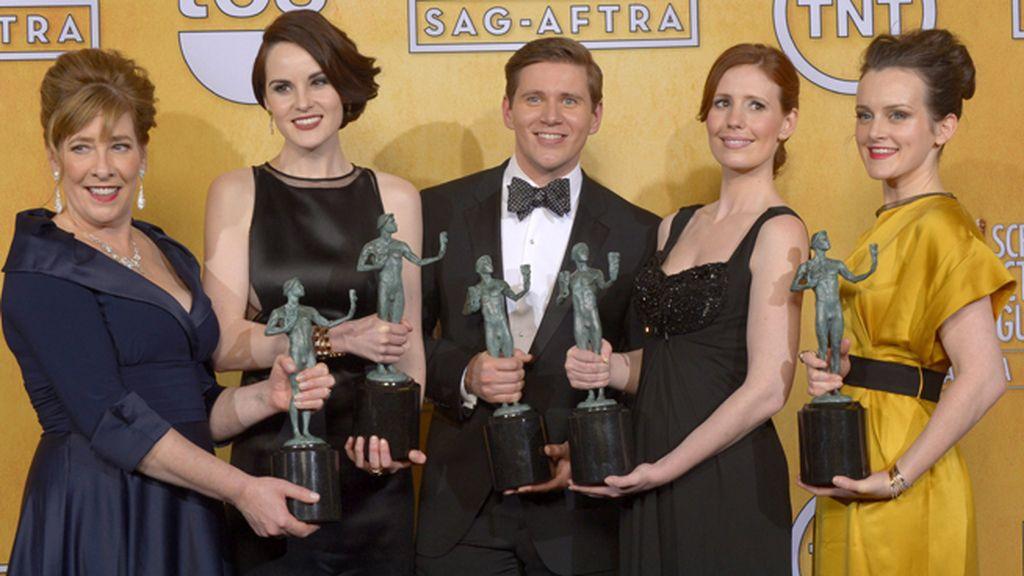 'Downton Abbey', mejor elenco de actores en un drama