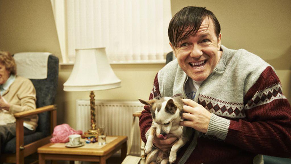 Ricky Gervais, mejor actor de comedia por 'Derek'