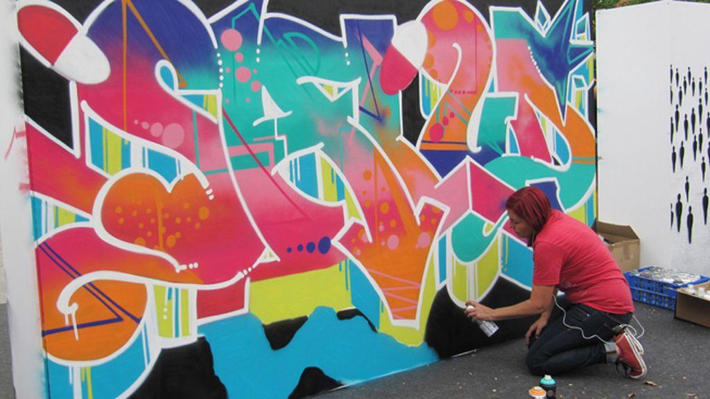 El mural de Musa sobre 'Salud e investigación'