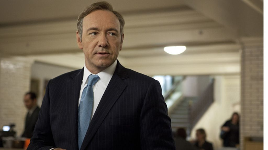 Kevin Spacey es Francis Underwood