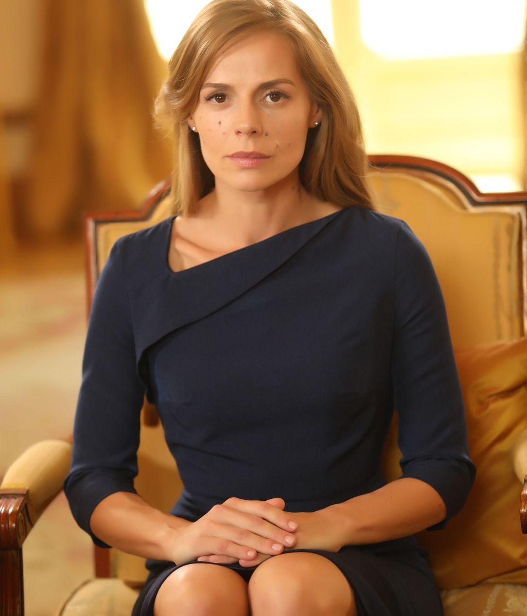 Myriam Gallego es Ana Chantalle en la serie de Telecinco 'Secretos de Estado'