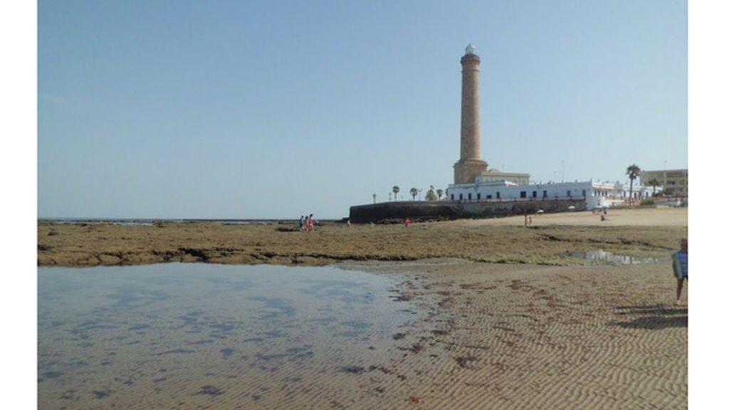 Ana Moreno de Matías: playa de Chipiona, Cádiz.