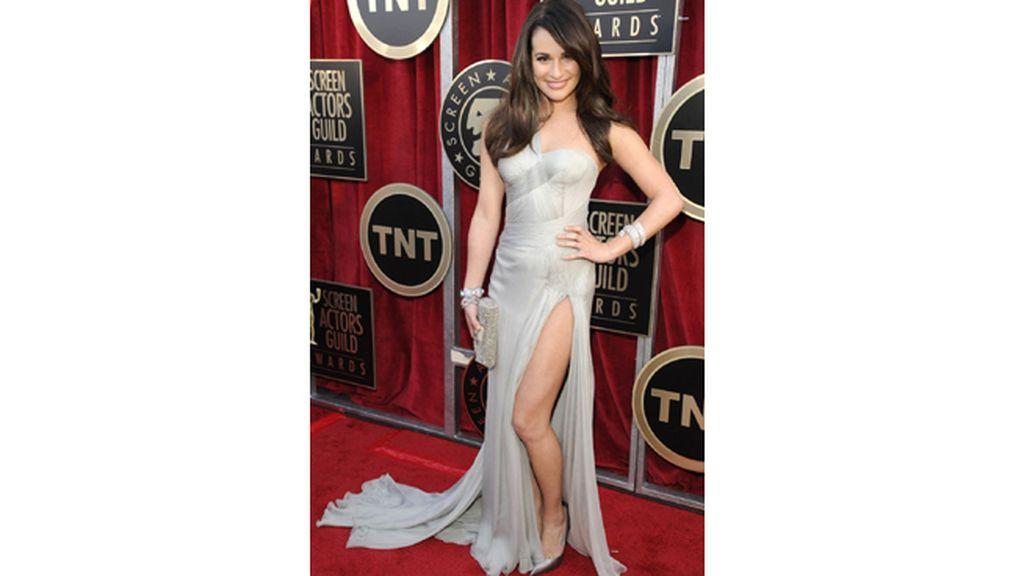 Lea Michelle ('Glee') fue una de las más elegantes