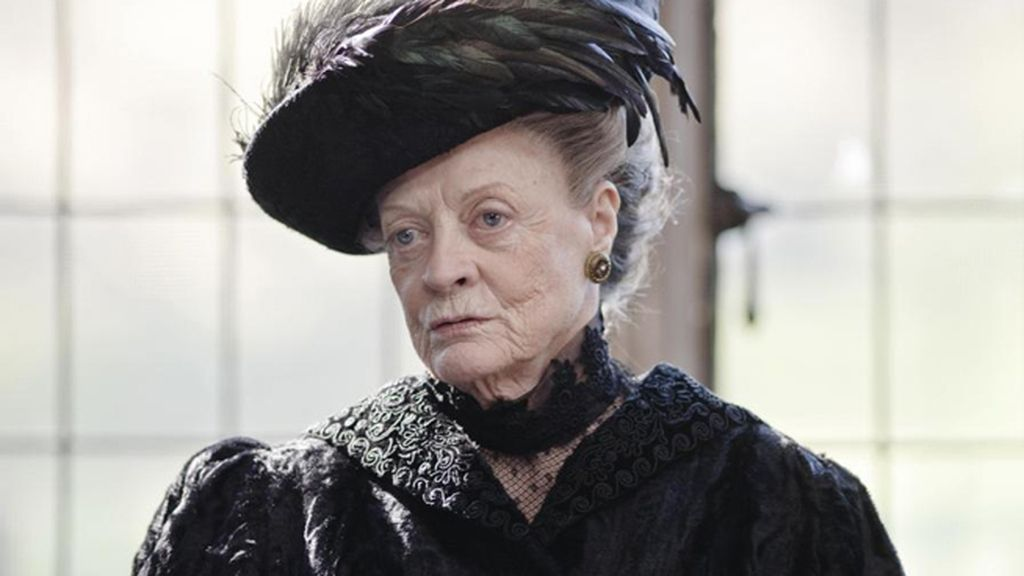 Maggie Smith, por 'Downton Abbey' (Antena 3), mejor actriz de reparto en serie, miniserie o 'tvmovie'