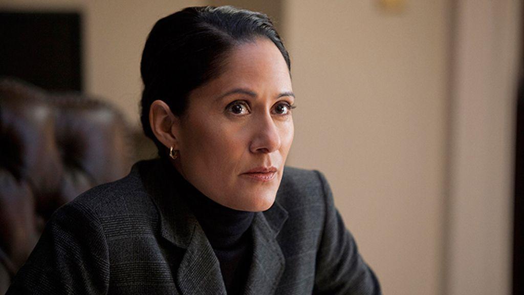Sakina Jaffrey es Linda Vasquez