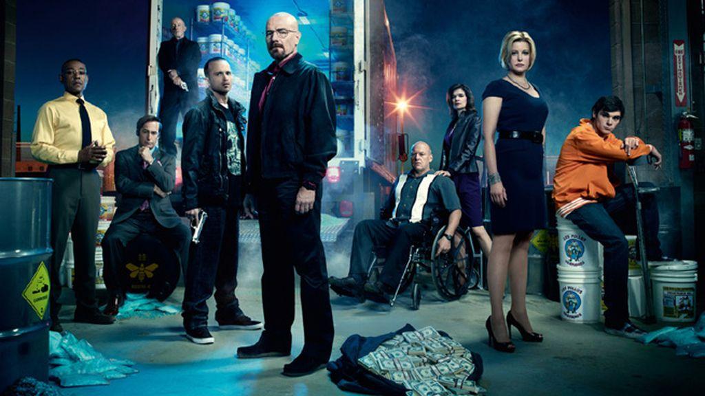 'Breaking bad', mejor serie dramática