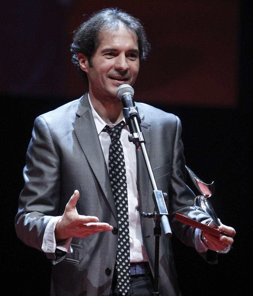 Javier Albalá, mejor actor de televisión ('Pelotas')