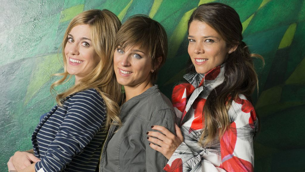 Alexandra Jiménez, Nausicaa Bonnin y Juana Acosta son Carlota, Natalia y Malena