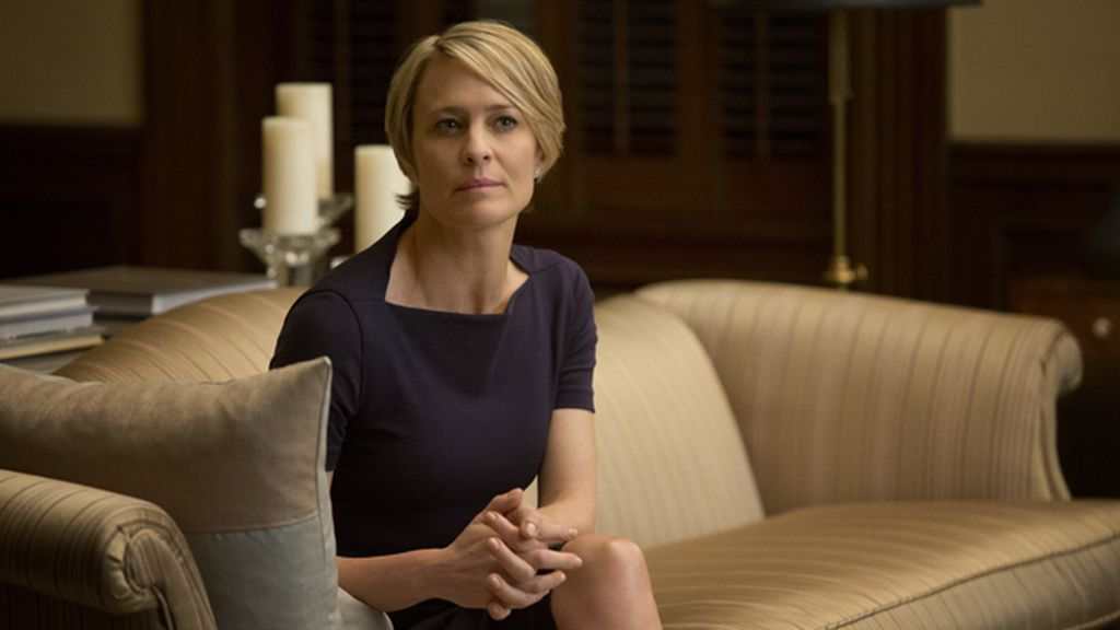 Robin Wright, mejor actriz en serie dramática por 'House of cards'