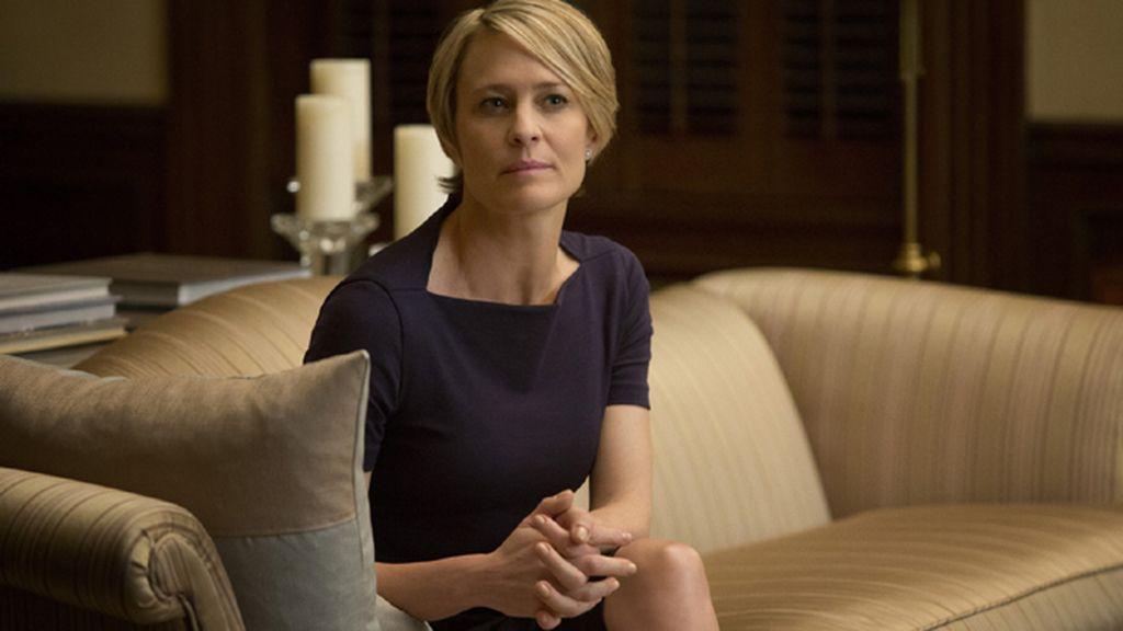 Robin Wright, mejor actriz de drama por 'House Of Cards'