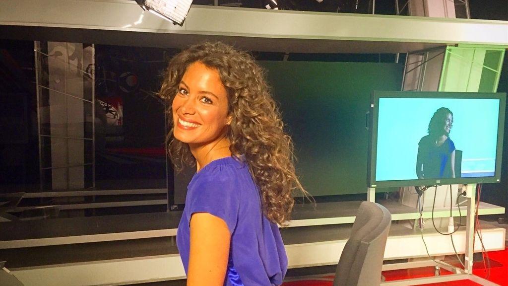 Laura Madrueño cambia de look en 'El Tiempo' de Mediaset