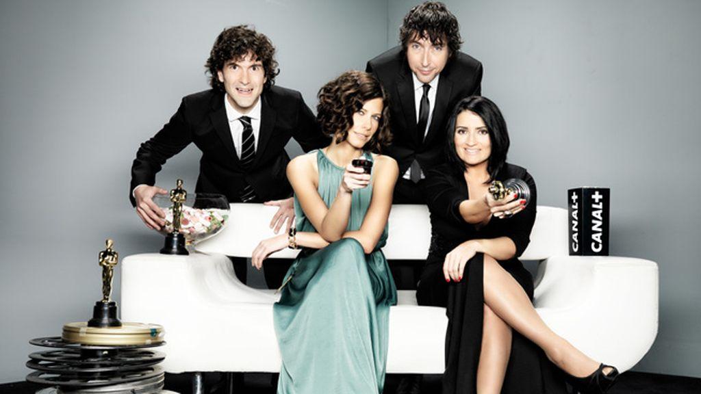 Equipo Canal + en los Oscar